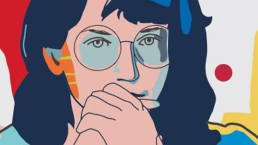 Alina Pienkowska, fragment muralu 'Kobiety Wolności'