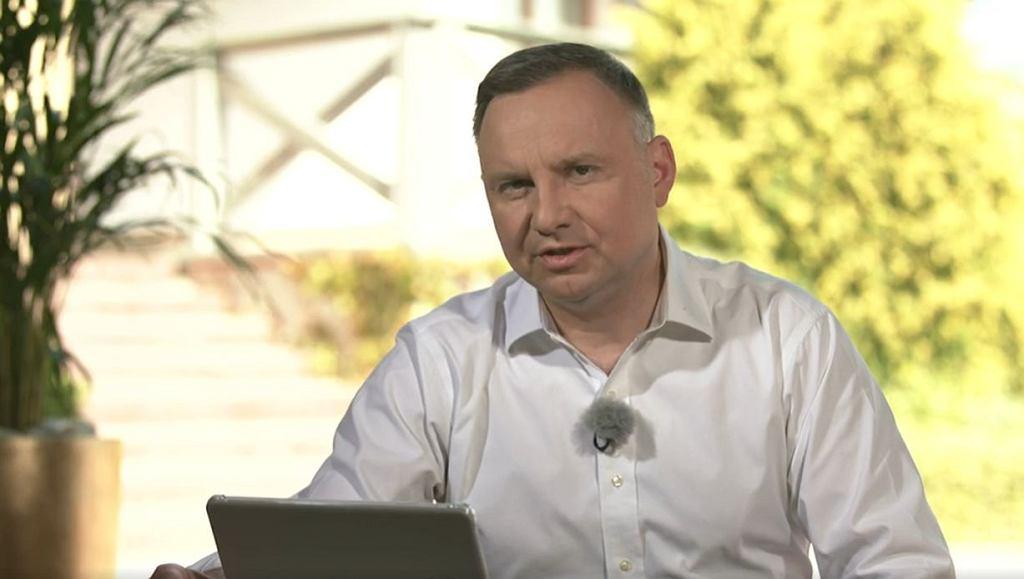 Andrzej Duda o delegalizacji k-popu