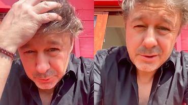 """Andrzej Piaseczny odnosi się do swojego szczerego wyznania na najnowszym nagraniu. """"Tyle się dzisiaj dzieje"""""""