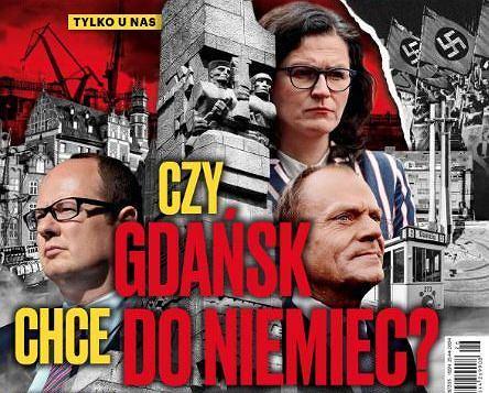 Okładka tygodnika 'Sieci' z 1 lipca 2019 r.