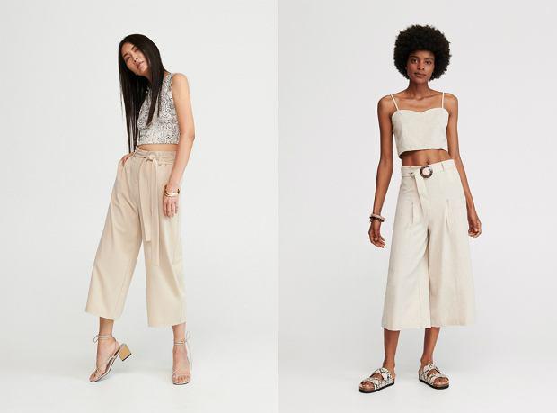Modne: spodnie z szerokimi nogawkami | W moim stylu