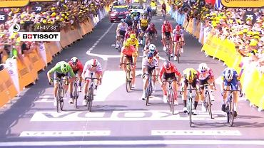 Wout van Aert wygrał 10. etap Tour de France