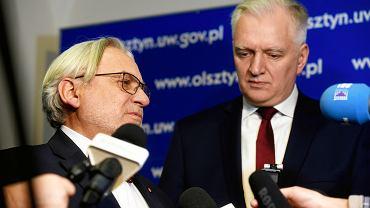 Wojciech Maksymowicz i Jarosław Gowin