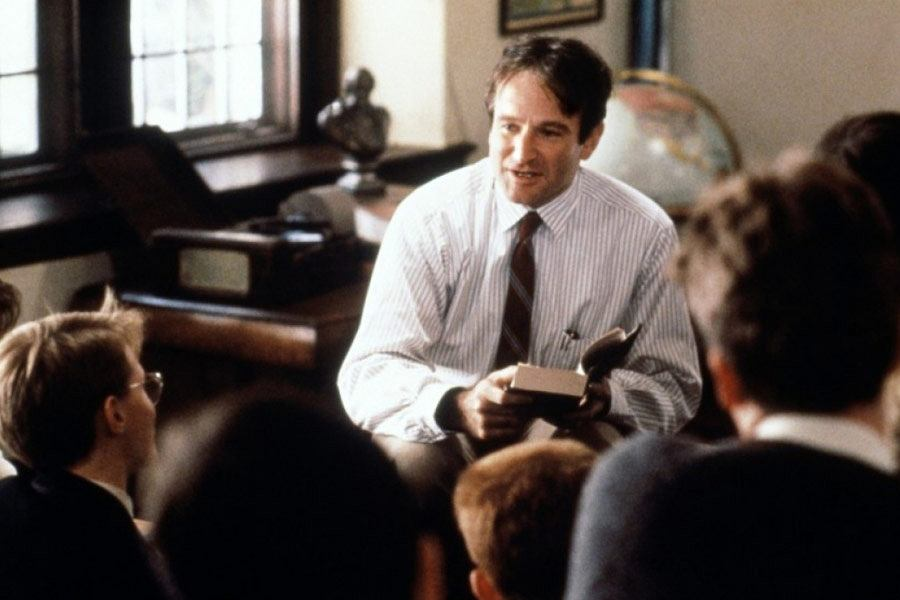 Robin Williams jako John Keating