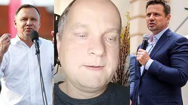 Wojciech Glanc, Rafał Trzaskowski, Andrzej Duda