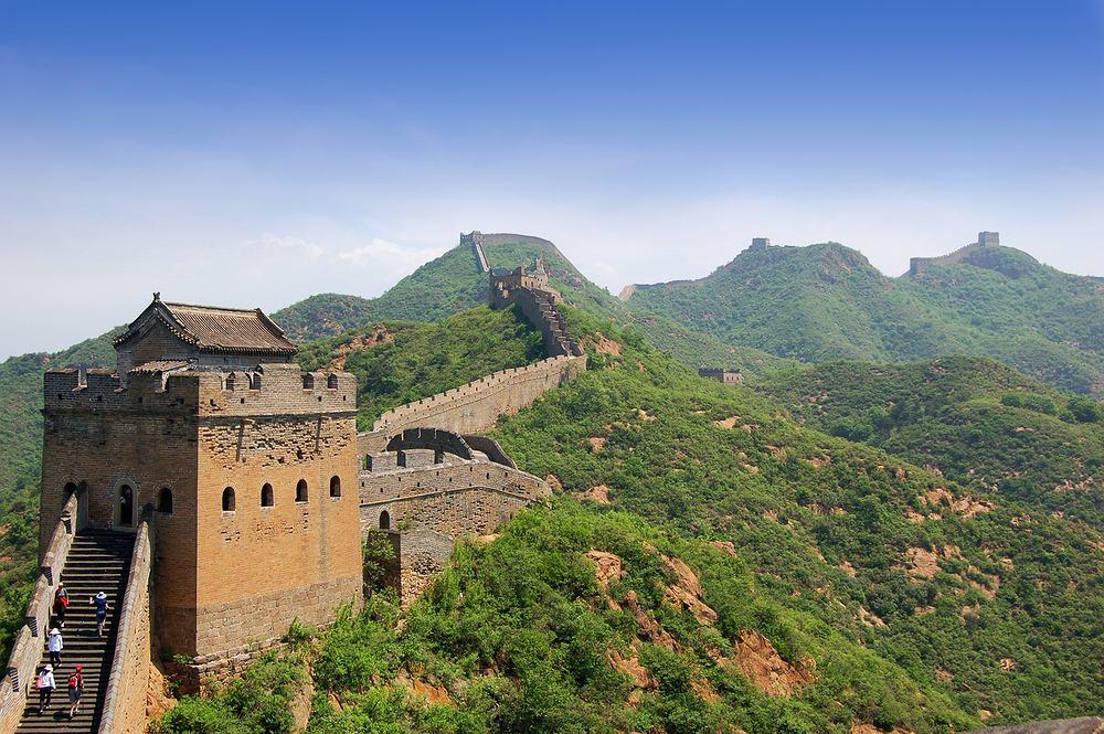 Chiny. Wielki Mur Chiński - Simatai