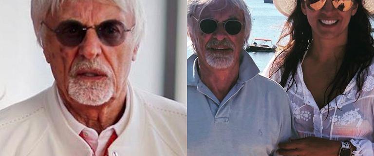 """89-letni Bernie Ecclestone został ojcem. """"Żona będzie miała kogoś po moim odejściu"""""""