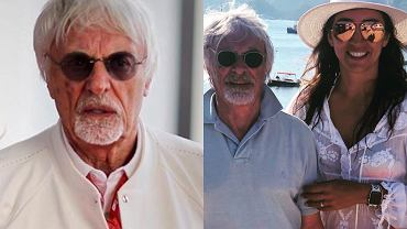 Bernie Ecclestone z partnerką