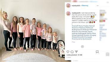 Blogerka ma dziewięcioro dzieci