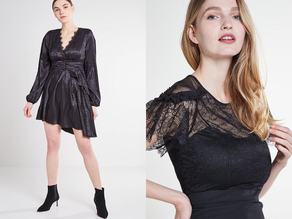 czarne sukienki Liu Jo