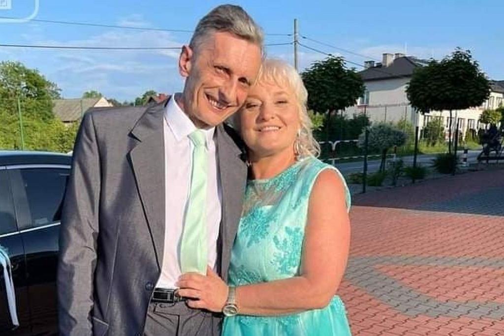 Adam z 'Sanatorium miłości' z żoną