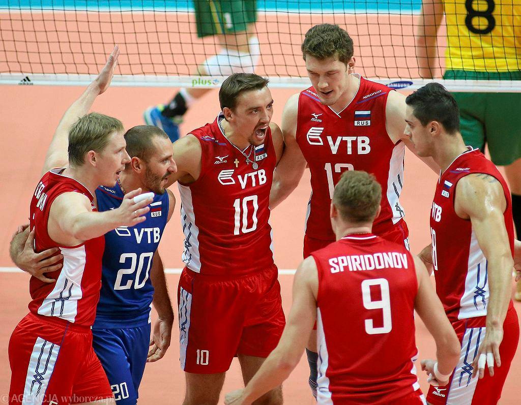 Aleksiej Spiridonow z numerem