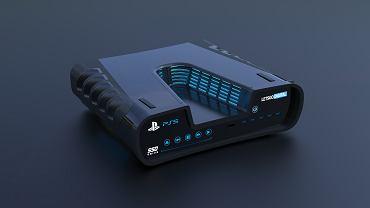 Tak może wyglądać PS5 lub PS5 Development Kit