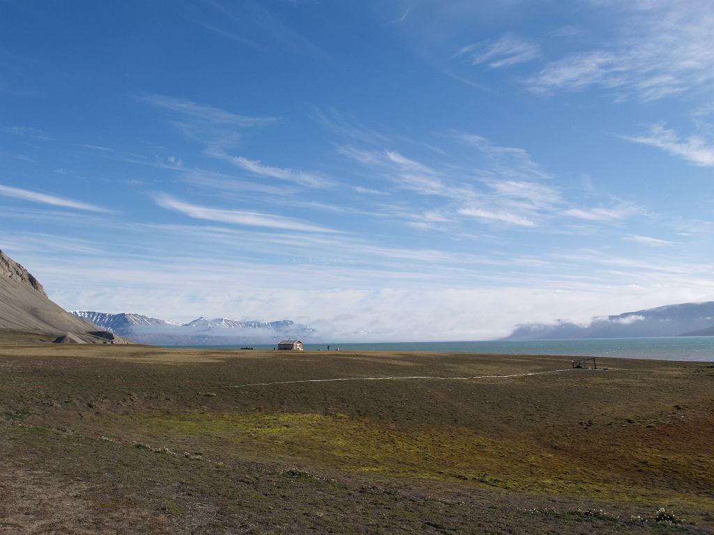 Tundrowy krajobraz centralnego Spitsbergenu