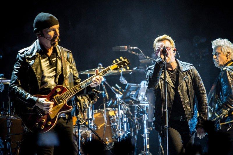 U2 podczas swojej ostatniej trasy koncertowej