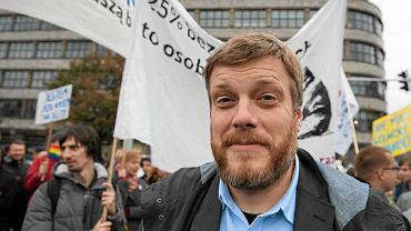 Adrian Zandberg, lider Partii Razem