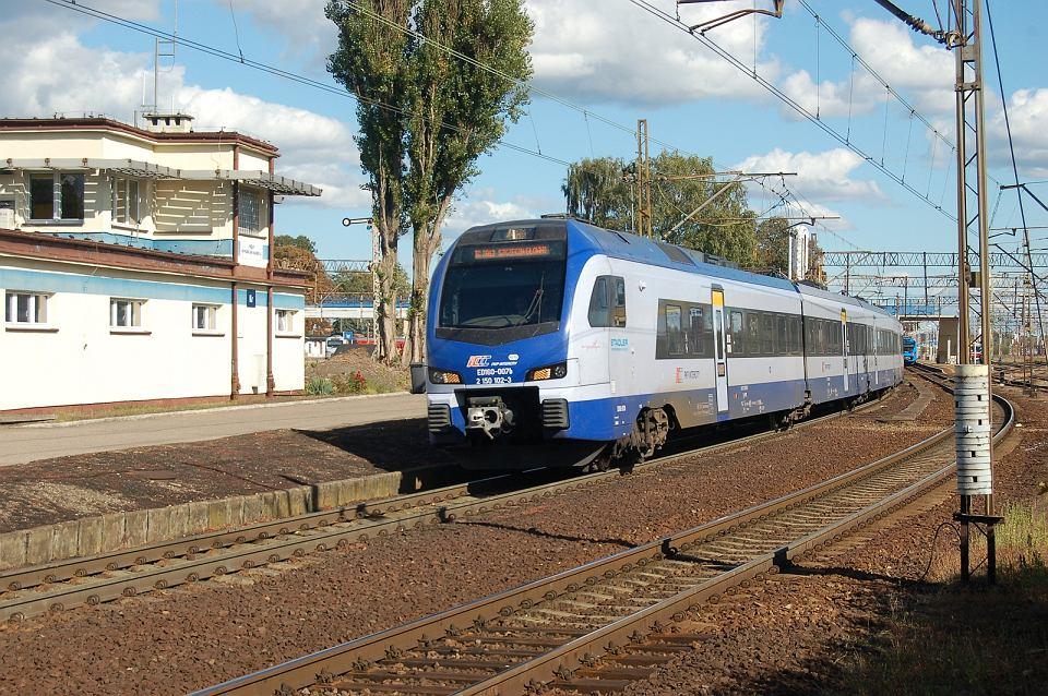 Linia Szczecin-Poznań. Stacja Krzyż
