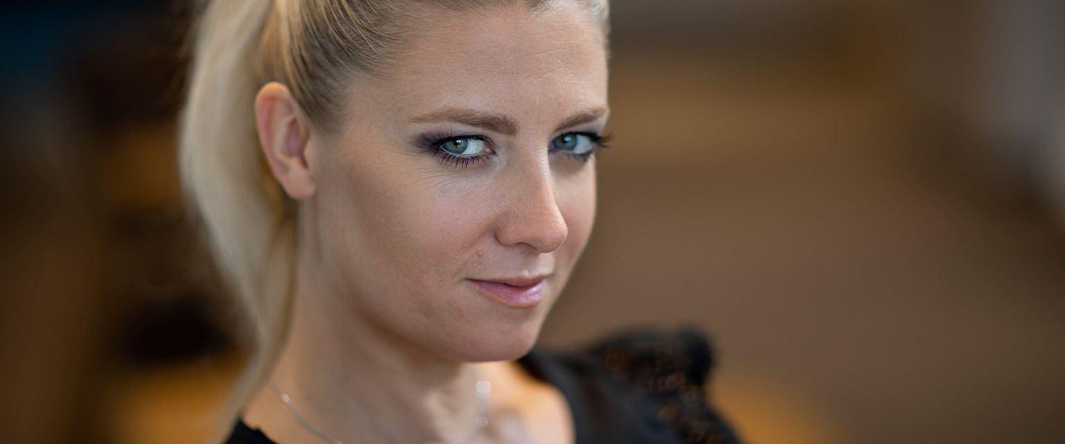 Magdalena Wolińska-Riedi (fot. Michał Zięba)