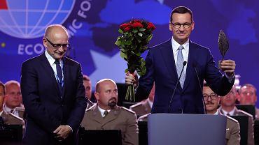 Mateusz Morawiecki na Forum Ekonomicznym w Krynicy