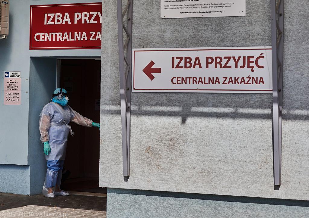 Epidemia koronawirusa - szpital (zdjęcie ilustracyjne)