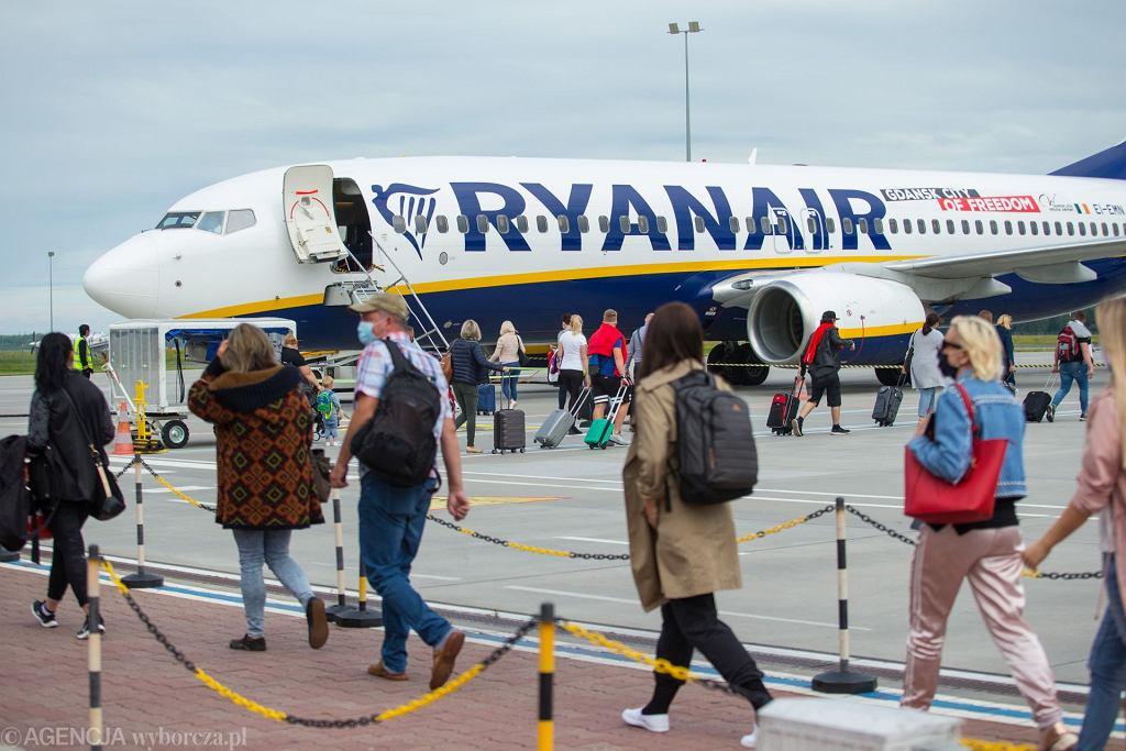 Ryanair oferuje tanie loty