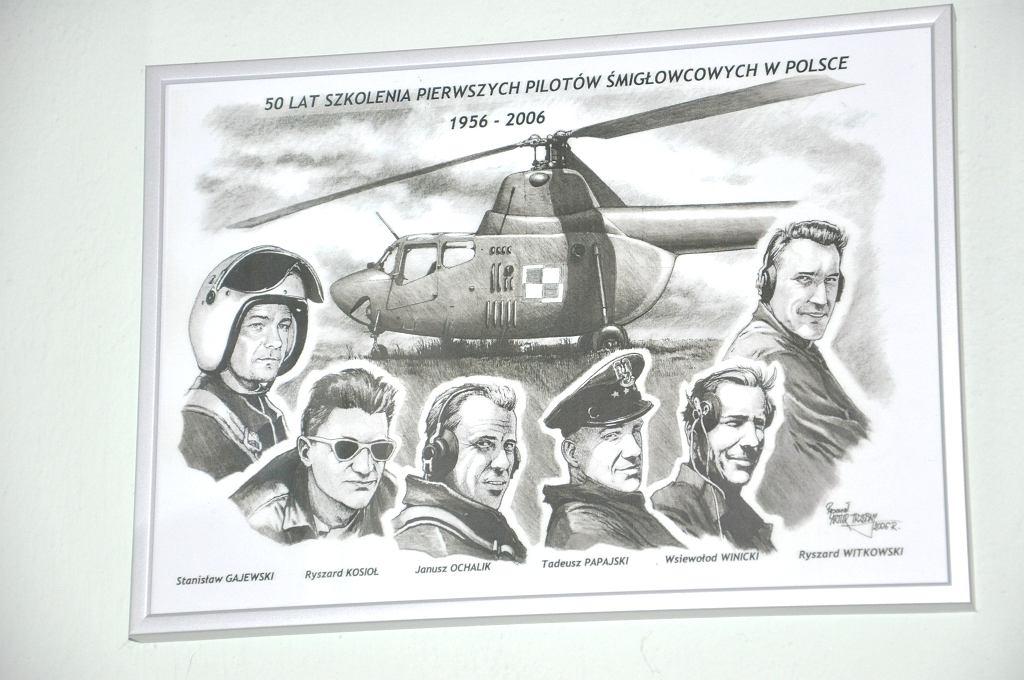 50-lecie szkolenia pierwszych pilotów śmigłowców w Polsce, 2006 (archiwum prywatne Ryszarda Witkowskiego)
