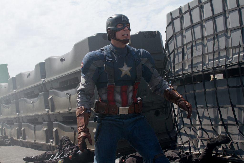 Program TV: 'Kapitan Ameryka: Zimowy żołnierz'