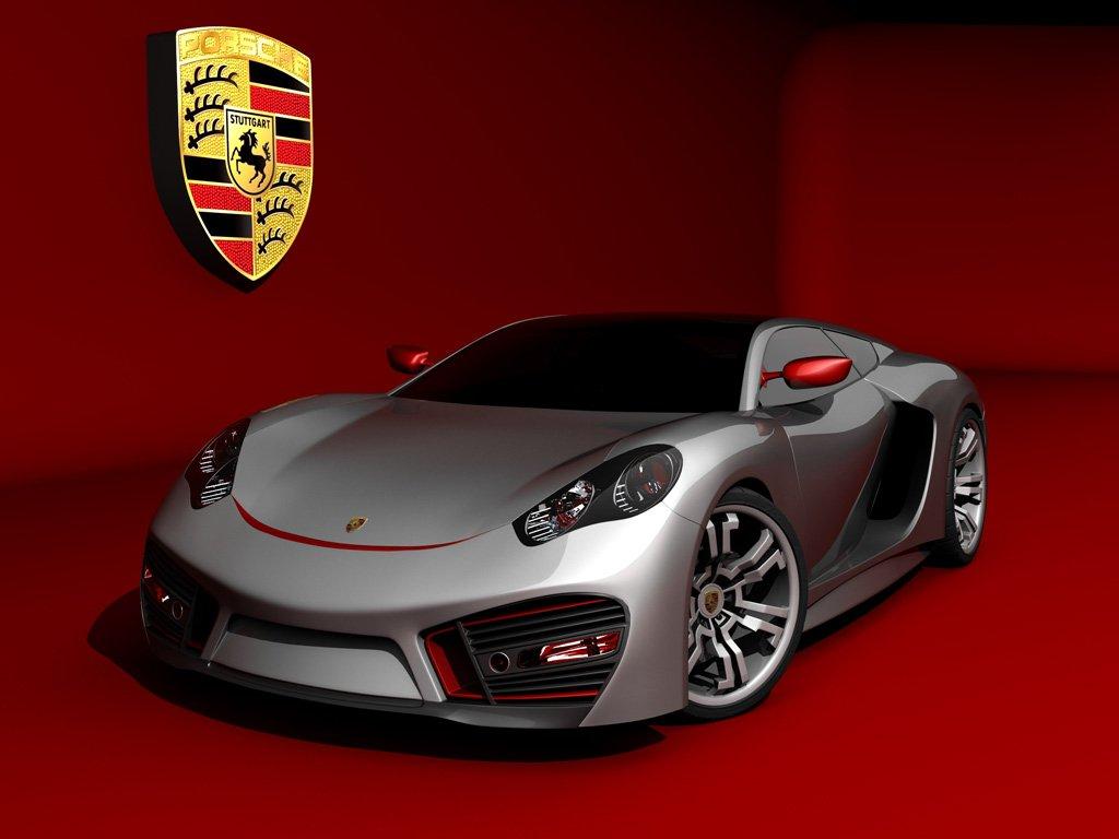 Koncept supersamochodu Porsche(EmilBaddal)