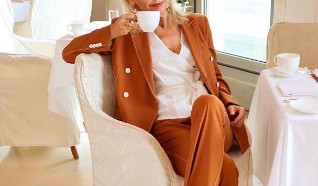 eleganckie spodnie dla kobiet po 50