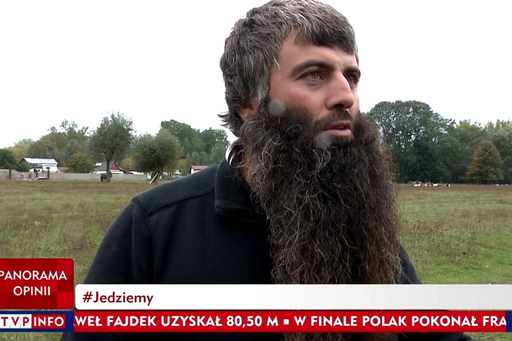 Właściciel stada, którego część kóz zmarła ostatnio na wyspie w okolicach Mostu Gdańskiego