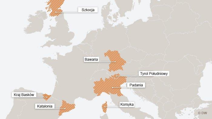 Dążenia niepodległościowe w Europie