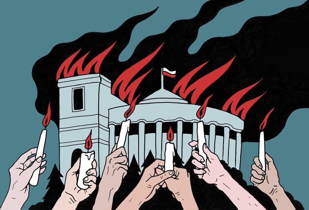 20 lipca PiS podpaliło Sejm głosowaniem nad ustawą o Sądzie Najwyższym