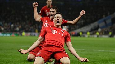 Robert Lewandowski triumfuje po kolejnym golu