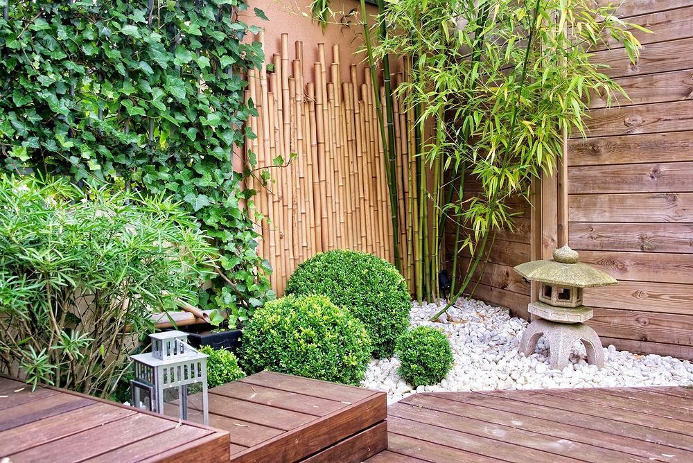 Japoński ogród. Zdjęcie ilustracyjne