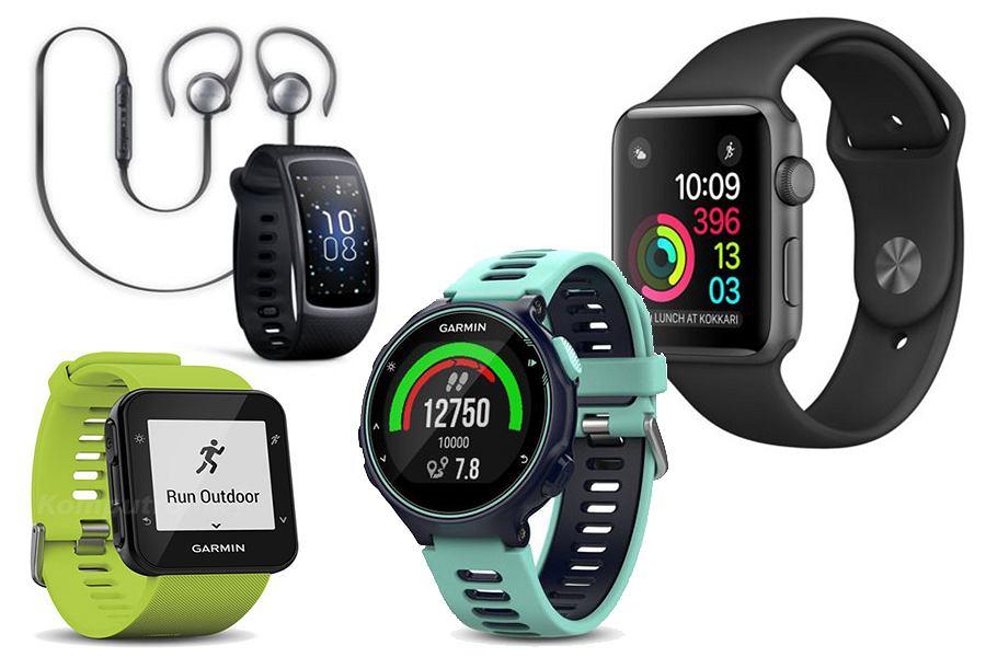 Smartwatch lub zegarek sportowy