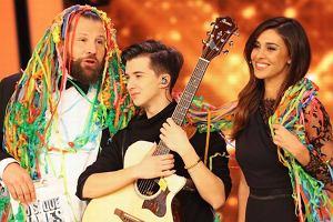 Marcin Patrzałek wygrał włoski talent show