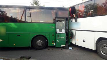 Wypadek w Pankach na Śląsku
