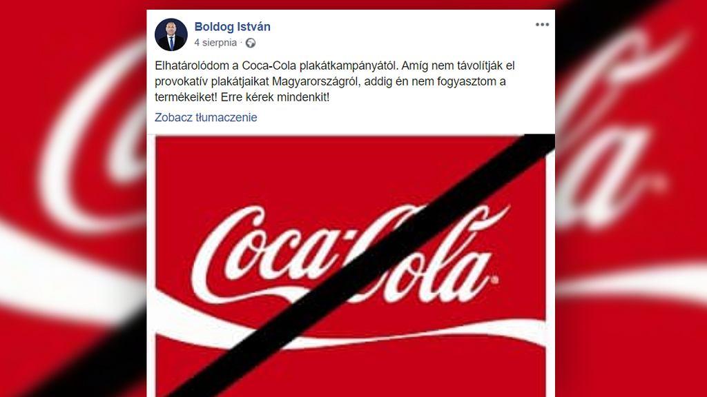 Coca-cola ukarana grzywną za kampanię wspierającą homoseksualizm.