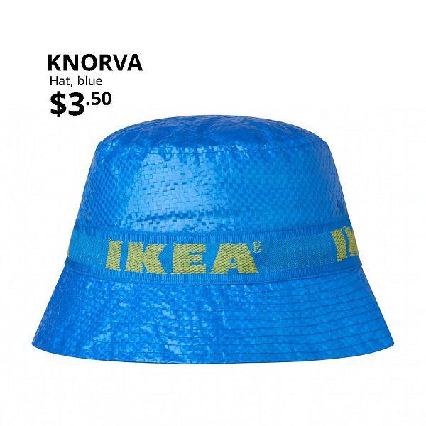 Kapelusz z torby IKEA