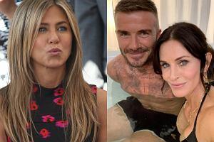 Jennifer Aniston, David Beckham, Courteney Cox