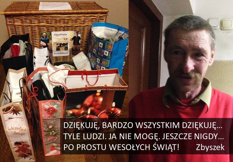 #OgrzejZbyszka