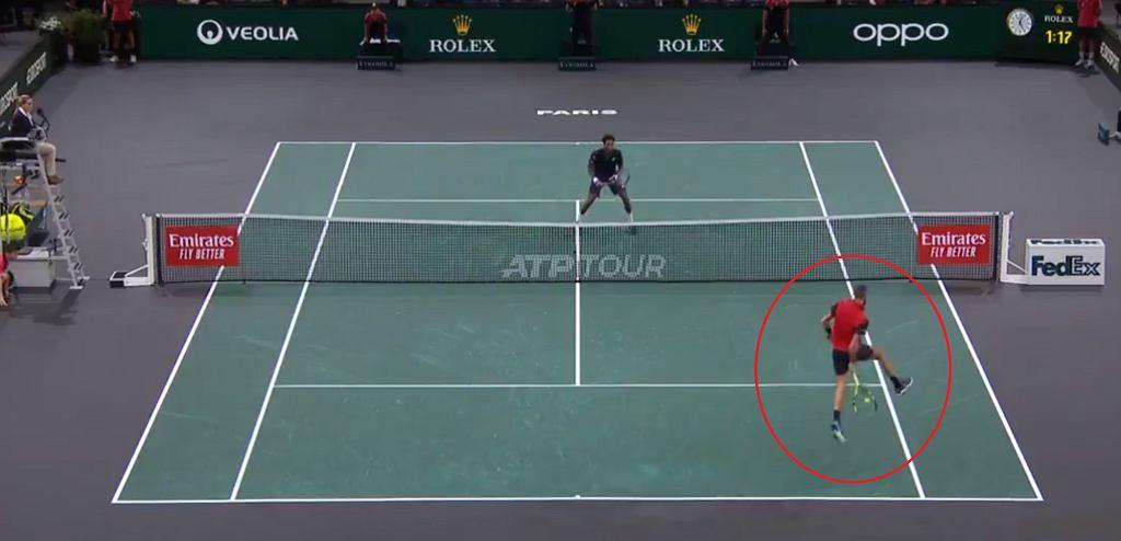 Niezwykła akcja w paryskim turnieju