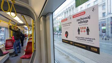 Pierwszy dzień obowiązywania czerwonej strefy w Warszawie (fot. Adam Stępień / Agencja Gazeta)