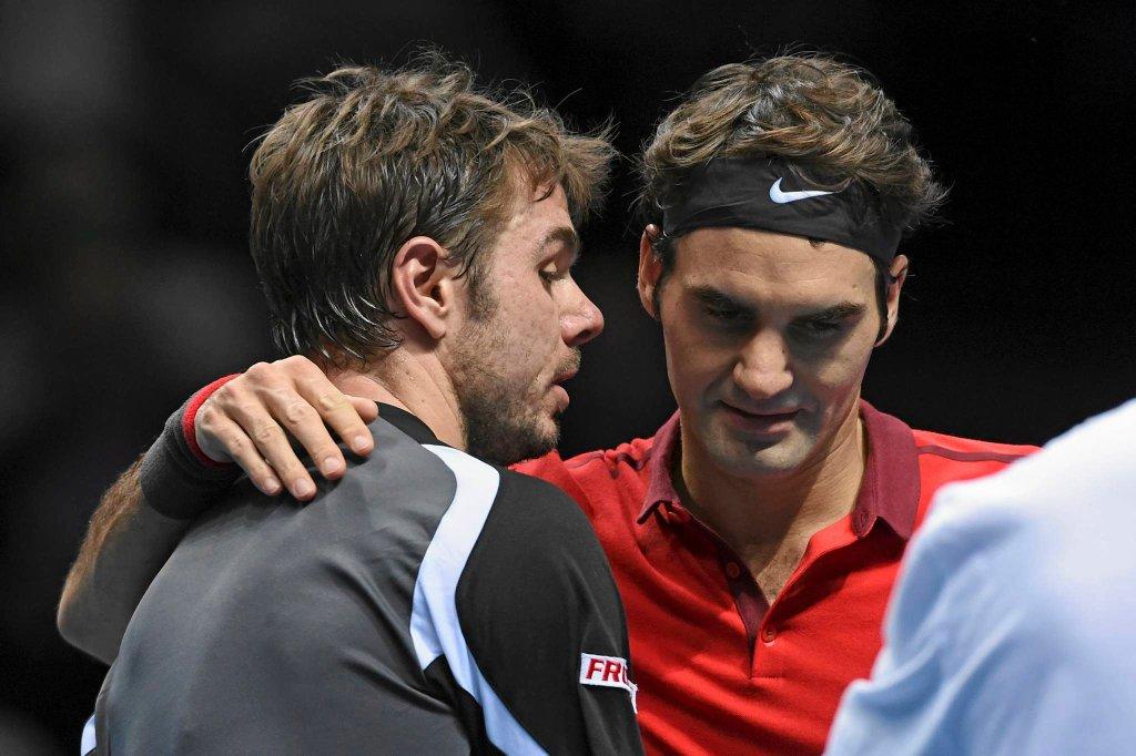 Stanislas Wawrinka i Roger Federer