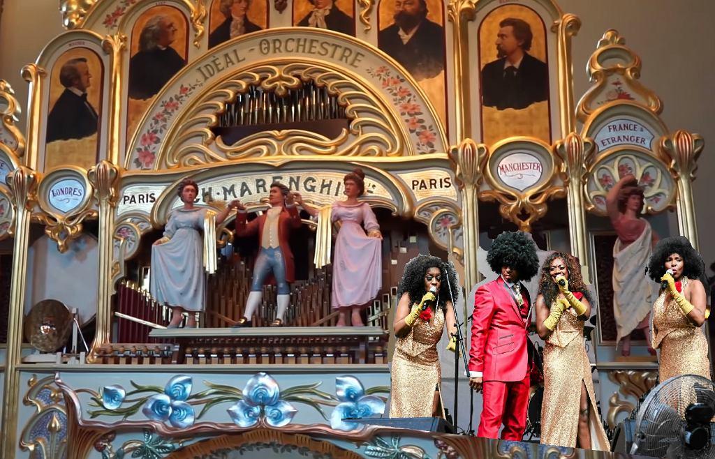Rasputin zagrany na organach z 1905 roku