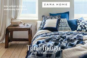 Zara Home - dodatki w kolorze indygo