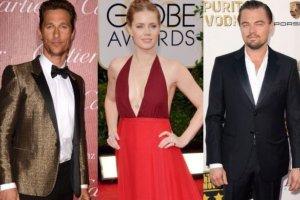 Matthew McConaughey, Amy Adams i Leonardo DiCaprio