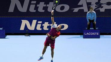 ATP Finals. Serwuje Łukasz Kubot