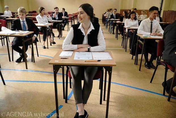 Matura 2018. Egzamin z języka polskiego na poziomie rozszerzonym wśród egzaminów nieobowiązkowych.