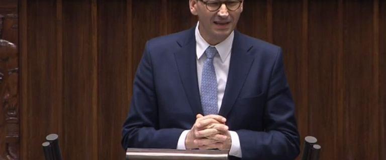 Rząd Mateusza Morawieckiego otrzymał wotum zaufania